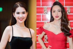 Hương Giang - Ngọc Trinh dẫn đầu top sao đẹp nhờ chọn gam màu kinh điển của thời trang