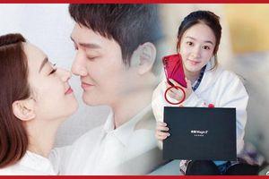 Hậu tuyên bố kết hôn, Triệu Lệ Dĩnh PR điện thoại trá hình âm thầm khoe nhẫn kết hôn?
