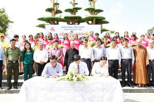 Ninh Bình: Phát động xây dựng mô hình bảo vệ môi trường tại Giáo xứ Cách Tâm
