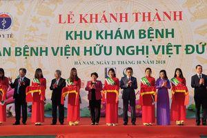 Cở sở 2 bệnh viện Bạch Mai, Việt Đức khánh thành tại Hà Nam