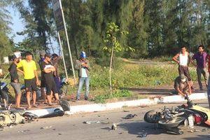 Nghệ An: 2 xe máy đối đầu tốc độ cao, lái xe tử vong tại chỗ
