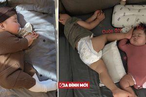 1001 dáng ngủ 'bá đạo' của cậu nhóc Hàn Quốc mũm mĩm