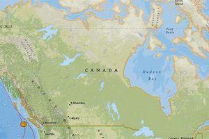 4 trận động đất liên tiếp xảy ra ngoài khơi Canada