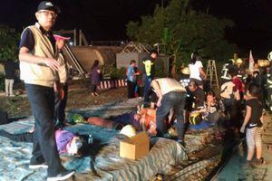 18 người thiệt mạng trong vụ tàu trật bánh ở Đài Loan