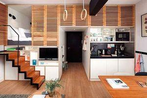 'Diện tích sử dụng tối thiểu của căn hộ không nhỏ hơn 25 m2'