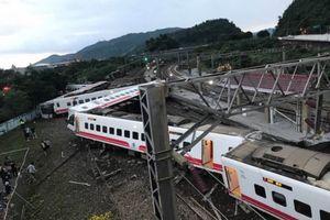 Tai nạn tàu hỏa thảm khốc ở Đài Loan, hơn 100 người thương vong