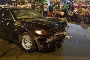 Nữ tài xế lái BMW tông liên hoàn, 1 người chết, 5 người bị thương