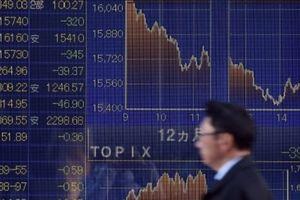 Nikkei 225 rớt hơn 1%, chứng khoán châu Á giảm điểm