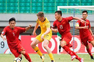 Thua U19 Australia, U19 Việt Nam hết cơ hội đi tiếp ở VCK U19 châu Á 2018