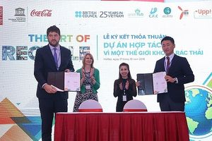 Coca-Cola đồng hành cùng Unesco trong phong trào chống rác thải nhựa