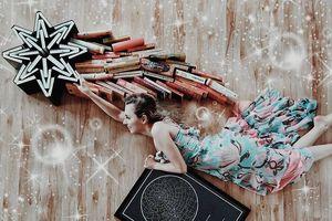 Những bức ảnh tạo hình tuyệt đẹp và sáng tạo từ những cuốn sách