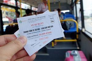 Mở tuyến buýt chuyên biệt từ trung tâm Hà Nội đi sân bay quốc tế Nội Bài