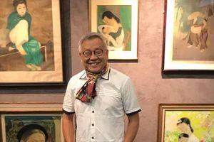 Tranh lụa của họa sĩ Việt được bán với mức giá kỷ lục gần 12 tỷ