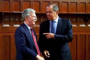 Cố vấn Bolton sang Nga nói gì vụ rút khỏi hiệp định hạt nhân?