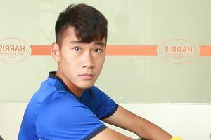 Nhâm Mạnh Dũng hết sốt, tập phục hồi với U19 Việt Nam