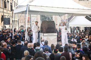 Hấp dẫn lễ hội socola lớn nhất châu Âu