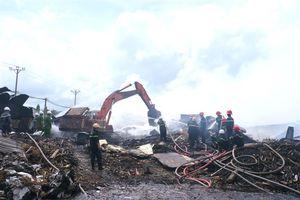 Cháy lớn tại Cty TNHH Nông Trại Xanh