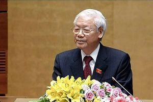 Bài phát biểu của Tổng Bí thư Nguyễn Phú Trọng sau khi nhậm chức Chủ tịch Nước