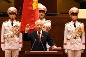 Ðồng chí Nguyễn Phú Trọng được bầu làm Chủ tịch nước nhiệm kỳ 2016 - 2021