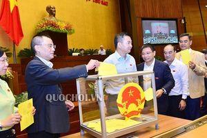 Quốc hội đã bỏ phiếu kín bầu Chủ tịch nước