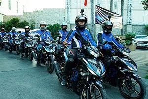 Dàn xe máy Yamaha Exciter 2019 phượt Sài Gòn - Hà Giang