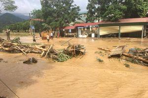 Lào Cai: Lũ dội về bất ngờ, thiệt hại 6,5 tỷ đồng