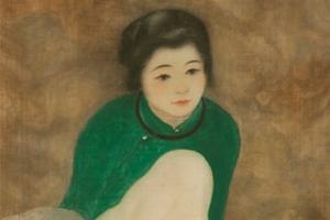 Tranh lụa của cố họa sĩ Nam Sơn được bán với giá gần 12 tỷ ở Pháp