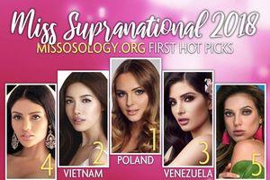 Người đẹp Việt liên tục vào top 10 thế giới
