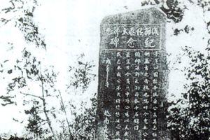 Bia tưởng niệm của cụ Phan Bội Châu: Một biểu tượng tình hữu nghị Việt - Nhật