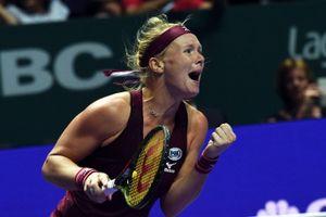 Kiki Bertens có chiến thắng đáng nhớ tại WTA Finals
