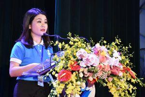 Chị Chu Hồng Minh tái đắc cử Chủ tịch Hội Sinh viên Việt Nam TP Hà Nội