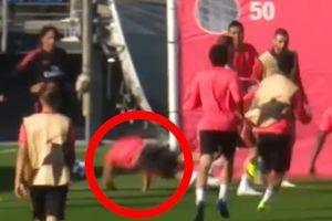 Lộ video Sergio Ramos 'gấu ó' hiếp đáp đàn em trên sân tập