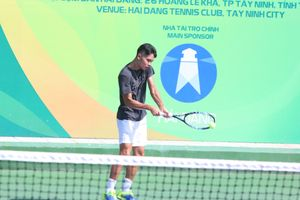 Hoàng Nam, Linh Giang thẳng tiến ở giải quần vợt nhà nghề Tây Ninh