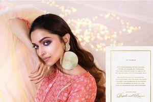 Nữ diễn viên được trả lương cao nhất Bollywood thông báo kết hôn