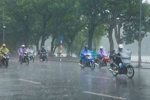 Thời tiết hôm nay 23/10: Hà Nội mưa to, trời lạnh