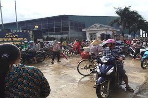 Công nhân Cty TNHH Ivory Việt Nam tiếp tục ngừng việc, đòi quyền lợi