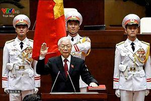 Tổng Bí thư Nguyễn Phú Trọng đắc cử Chủ tịch nước với 99,79% phiếu tán thành