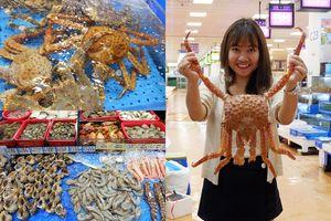 Team Hàn Quốc mê Hải Sản nhất định phải ăn bao no ở chợ Noryangjin