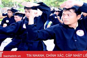 Huấn luyện võ cổ truyền cho giáo viên thể chất các cấp học ở Hà Tĩnh