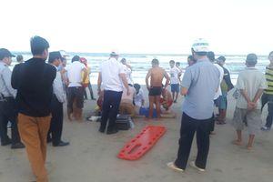Thêm một du khách Trung Quốc chết đuối ở biển Đà Nẵng