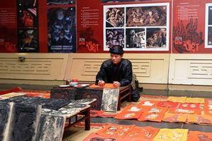 Cuộc hội ngộ của sáu dòng tranh dân gian Việt Nam tiêu biểu