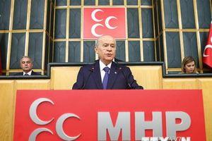 Thổ Nhĩ Kỳ: MHP rút khỏi liên minh tranh cử với AKP