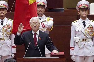 Tổng Bí thư Nguyễn Phú Trọng được bầu giữ chức Chủ tịch nước