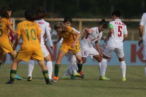 U19 nữ Việt Nam quyết vượt vòng loại thứ nhất Giải bóng đá U19 châu Á 2019