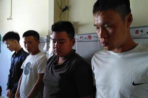 Bắt nhóm thanh niên từ Hải Phòng vào Tiền Giang cho vay nặng lãi