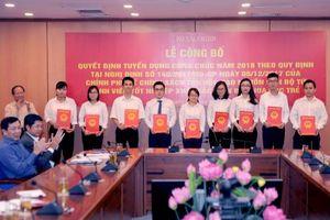 Bộ Tài chính tuyển dụng công chức theo chính sách thu hút nhân tài