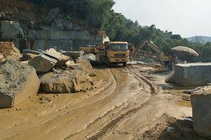 Ngọc Lặc (Thanh Hóa): Công ty Việt Thanh khai thác đá ngoài vị trí, xả thải gây ô nhiễm