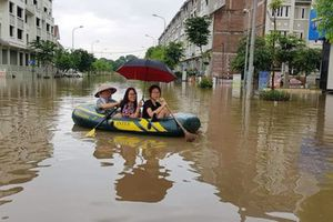 UBND Thành phố Hà Nội: Chấp thuận để Tập đoàn Geleximco 'giải cứu' ngập úng đường Lê Trọng Tấn