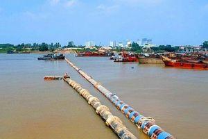 Nhà máy Nước mặt Sông Đuống tiến hành dẫn nguồn nước sạch uống tại vòi sang khu vực phía Nam Thành phố Hà Nội