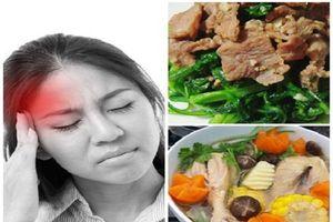 Người bị đau nửa đầu nên biết những món ăn này